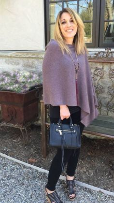 Image result for claudia nichole cashmere poncho