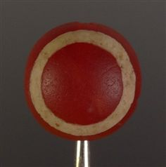 Ancient Carnelian Tabular Eye Bead