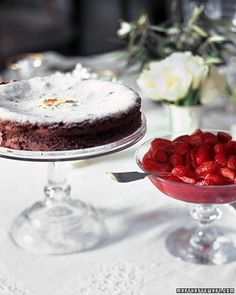 Helen Nash's Chocolate Almond Cake