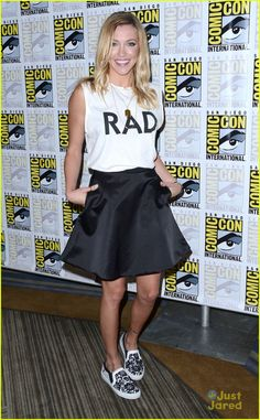 Katie Cassidy at #Arrow Comic-Con 2015
