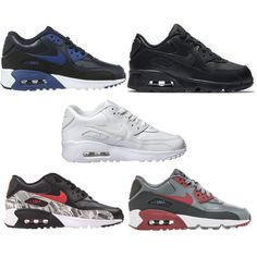 huge selection of 900f7 7b3ff Nike 833412 Kid s Air Max 90 Leather Running Shoes