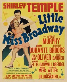 CAST: Shirley Temple, George Murphy, Jimmy Durante, Phyllis Brooks, Edna May Oliver, George Barbier, Donald Meek, Jane Darwell; DIRECTED BY: Irving Cummings; CINEMATOGRAPHY BY: Arthur C. Miller. PRODU