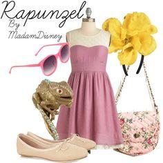 """Disney - Rapunzel"" by thunderbirdie on Polyvore"