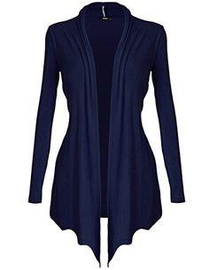 5cc3bf2cb82  DRSKIN  Women s Open - Front Long Sleeve Knit Cardigan (XL