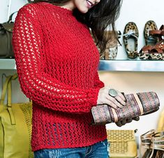 "Delicacies in crochet Gabriela: Blouses with patterns ""and two needles Crochet"""