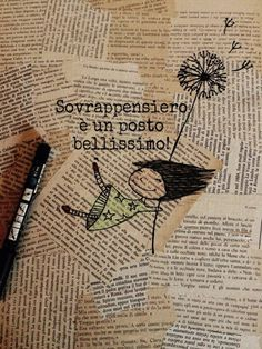 Sovrappensiero è un posto bellissimo Found Poetry, Cursed Child Book, Emoticon, Mini Albums, Cool Words, Quotations, Book Art, Doodles, Inspirational Quotes
