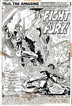 The Amazing Spider-Man and the Hulk by Gil Kane and John Romita