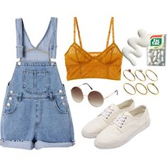 1:34 by httpmajo on Polyvore featuring polyvore, fashion, style, Intimately Free People, ASOS, H