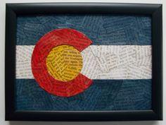 Colorado State Flag.