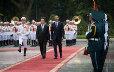 Vietnam Arms Embargo to Be Fully Lifted, Obama Says in Hanoi - The New York Times