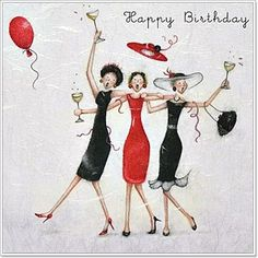 Happy Birthday Friends by Berni Parker Birthday Wishes Cards, Happy Birthday Messages, Happy Birthday Quotes, Happy Birthday Greetings, Friend Birthday, Birthday Fun, Happy Birthday Pictures, Happy B Day, Birthdays