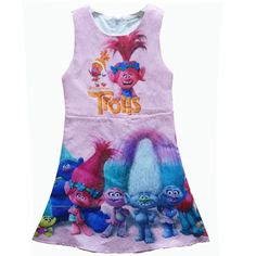 $9.48 (Buy here: https://alitems.com/g/1e8d114494ebda23ff8b16525dc3e8/?i=5&ulp=https%3A%2F%2Fwww.aliexpress.com%2Fitem%2F2017-Baby-girl-dress-TROLLS-magic-cartoon-summer-cotton-child-dress-kids-clothes-wear-children-dress%2F32782701519.html ) 2017 Baby girl dress TROLLS magic cartoon summer cotton child dress kids clothes wear children dress baby girls clothes H622 for just $9.48