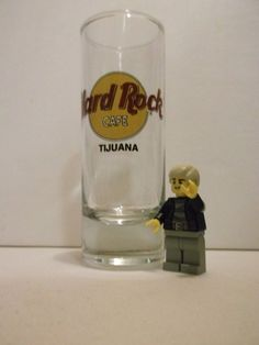 HARD ROCK Cafe Tijuana Mexico Tall Shot Glass - Store Closed in 2008