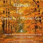 This Spanish and Social Studies activity has your students excited about writing a fall poem in Spanish.  They feel proud to be authors.  It is an engaging activity following the writing process where the students explore the fall with their senses and write about it.