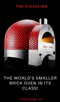 Diy Pizza Oven, Brick Oven Pizza, Pizza Oven Outdoor, Wood Fired Pizza, Pizza Ovens, Small Oven, Large Oven, Italian Pizza Oven, Pizza Maker