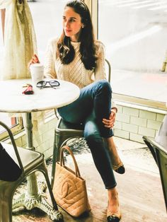 The Charlie Bird: A Classic Fisherman's Sweater is a Summer Staple. This post shows you how to wear it in the city, by the coast or in the country. Easy peasy! // www.thecharliebird.com | Pinterest: @evacharliebird | Instagram: @thecharliebirdnyc