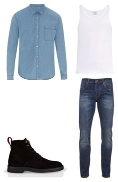 """10"" by nycmoo on Polyvore featuring AMI, The White Briefs, Scotch & Soda, Paul Smith, men's fashion и menswear"