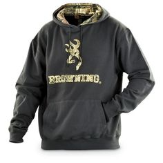 Buck the wind and weather with this stylish Browning Embroidered Hoodie. BIG BUCKS OFF! Let everyone know you dig hunting and Browning! Country Outfits, Country Girls, Country Life, Country Living, Country Style, Girly Outfits, Cute Outfits, Hooded Sweatshirts, Graphic Sweatshirt