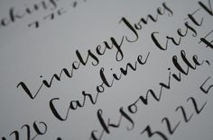 Handwritten Calligraphy in JACQUES & by MarcardinCalligraphy, 1.50