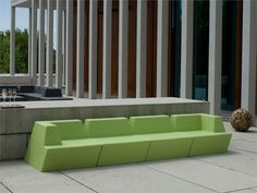 Fischer Möbel - Sofa Univers Outdoor Sofa, Outdoor Furniture Sets, Outdoor Decor, Sectional Sofa, Home Decor, Universe, Interior Architects, Switzerland, Modular Couch