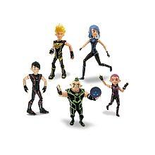 Desafio Champions Sendokai - Set 5 Figuras Sendokai Crosen Edition