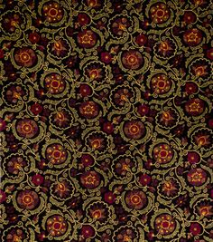 Jaclyn Smith Upholstery Fabric-Clarinet/Berry