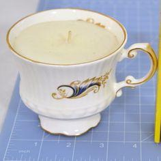 Royal Tara Irish Bone China Tea Cup Candle - Never Burned #RoyalTara