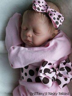Custom Anna by Pat Moulton Reborn by Sweet Little Bubs Nursery