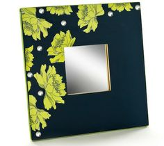 Mod Podge idea for all of the IKEA Mirrors in my hallway...NEAT!