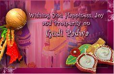 Wishing You Happiness, Joy and Prosperity on #Gudipadwa & #Navratri
