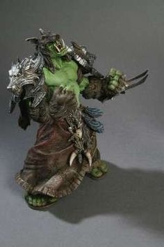 World of Warcraft: Orc Shaman Rehgar Earthfury Action Figure by DC unlimited @ niftywarehouse.com