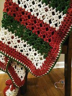 Ravelry: Christmas Dreams Blanket pattern by Kristi Simpson Crochet Afghans, Bobble Crochet, Crochet Quilt, Manta Crochet, Afghan Crochet Patterns, Crochet Yarn, Blanket Crochet, Ravelry Crochet, Crocheted Blankets