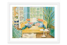 Lulu DK, Avignon Framed Print on OneKingsLane.com
