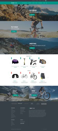 Sporting Goods Magento Theme http://www.templatemonster.com/magento-themes/55698.html