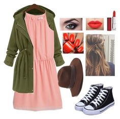 """Untitled #413"" by kwazzle ❤ liked on Polyvore featuring MANGO, Gottex and Maybelline"