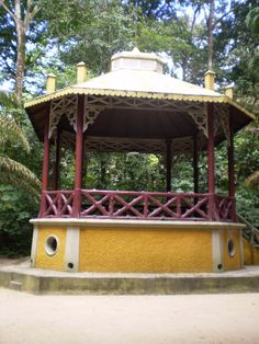 Coretos do Brasil - Page 2 - SkyscraperCity Portugal, Gazebo, Outdoor Structures, Travel Inspiration, Arquitetura, Monuments, Gardens, Scenery, Pictures