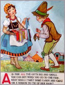 Soloillustratori: E.W.B. Childrens Alphabet, Alphabet Book, Animal Alphabet, Vintage Art Prints, Vintage Lettering, Vintage Children's Books, Vintage Postcards, Vintage Cards, Vintage Images