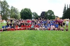 Tiverton Town, New Generaton, Diamond Twirlers, Exeter Blue Anchor, Devon Dynamites, Supreme Stars, Barnstaple Town and Cullompton Aces' Majorettes all gathered at Westexe Park for the fun day.