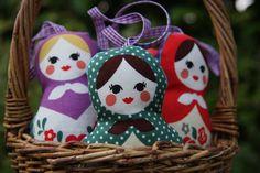 Lavender Russian Doll