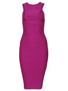 Rose Red Sleeveless Long Sexy Bandage Dress H027 @Sandy Trageser @Amanda Tobler @P e y т o n ☹ @Rachel Thies @Rachel Thies @Grezia Gonzalez