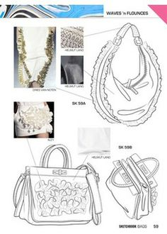 Close-Up Sketchbook Woman - Bags 15 - S/S 2015