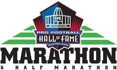 2014 Pro Football Hall of Fame Marathon..volunteered for it! 4/27/14. Maybe next year.
