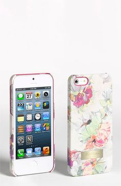 Ted Baker London 'Treasured Orchid' iPhone 5 Case available at #Nordstrom