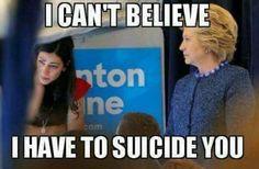 Message from Hillary to Uma