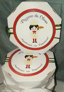 Alecrim Ateliê de Festas: Pizzaria da Clara