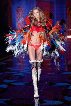 Pin for Later: Die Victoria's Secret Modenschau wird in diesem Jahr noch heißer Kate Grigorieva