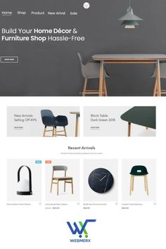 Webmerx is the best ecommerce platform for creating an online store for selling home décor and furniture online. Launch your website and start selling. 🤩