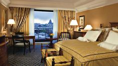 Superior and deluxe rooms at The Ritz-Carlton, Moscow offer scenic views and complimentary Internet access.