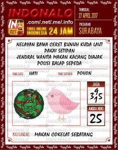Syair Kuat 2D Togel Wap Online Indonalo Surabaya 27 April 2017