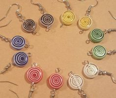 Check out this item in my Etsy shop https://www.etsy.com/listing/507295123/glass-bead-earring-earring-your-choice